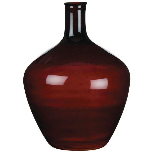 Geraldine Ornamental Bottle Floor Vase by Loon Peak