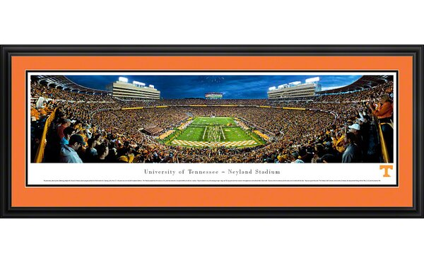 NCAA University of Tennessee - Power T by James Blakeway Framed Photographic Print by Blakeway Worldwide Panoramas, Inc