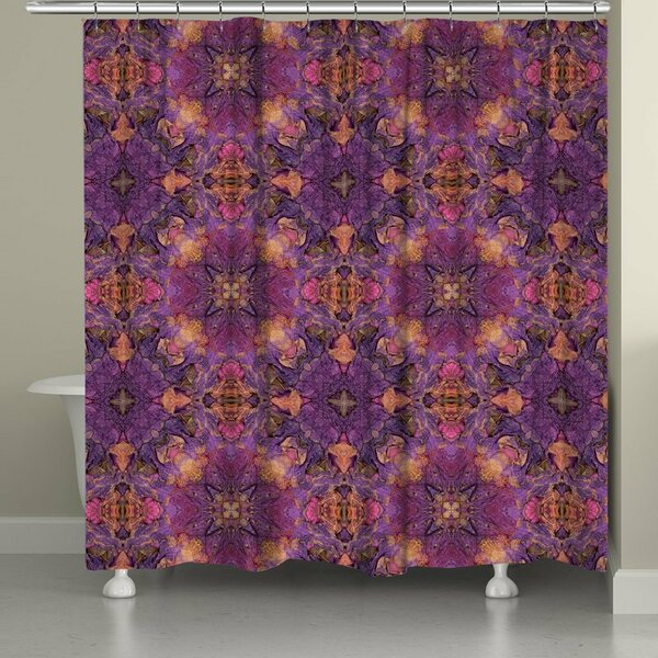 Eggers Shower Curtain by Bloomsbury Market