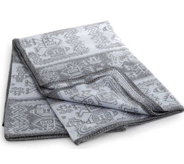 Paracas Snow Throw Blanket by Novica