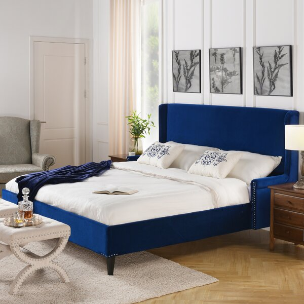 Giraldo Upholstered Bed by Darby Home Co