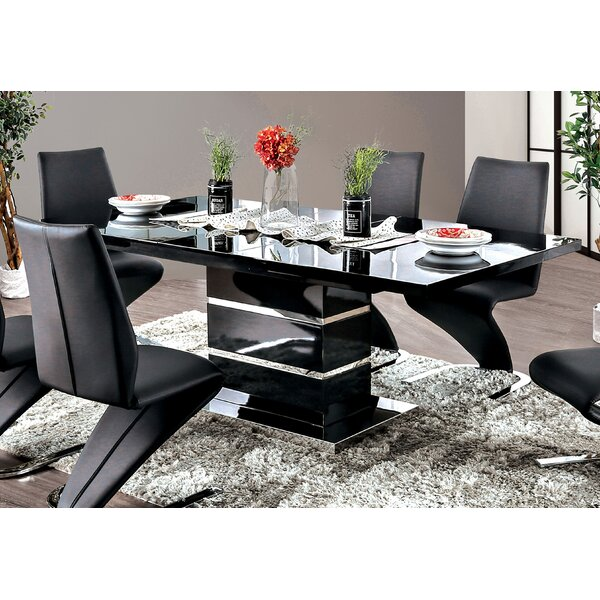 Meacham Extendable Dining Table by Orren Ellis