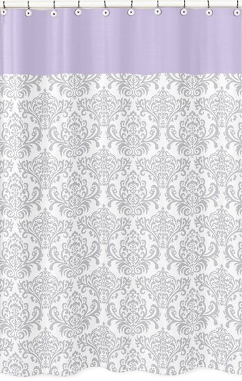 Elizabeth Cotton Shower Curtain by Sweet Jojo Designs