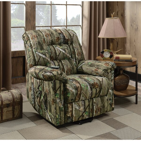 Westley Fantabulous Light Camouflage Power Recliner by Loon Peak