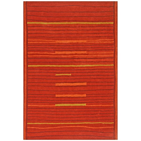 Structure Rust Rug by St. Croix