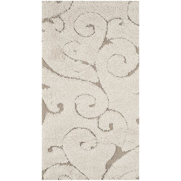 Henderson Cream Area Rug by Alcott Hill