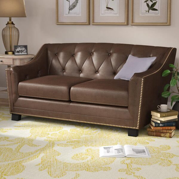 Tux Loveseat by Darby Home Co