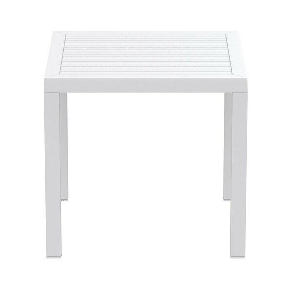 Melissus Plastic Dining Table by Mercury Row