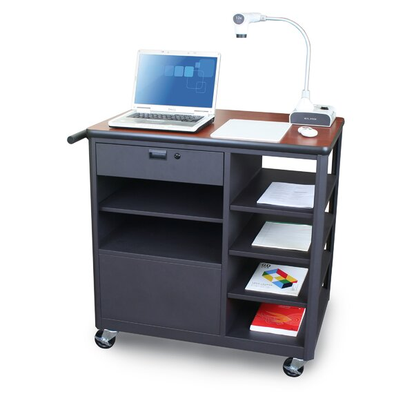 Vizion Presenter Mobile Presentation AV Cart by Marvel Office Furniture