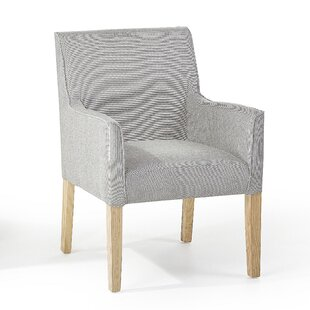 Affordable Rockefeller Upholstered Dining Chair by Caracalla