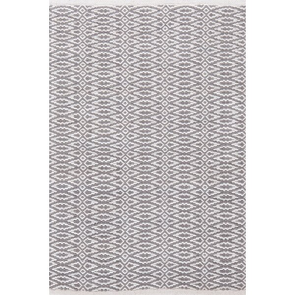 Fair Isle Hand Woven Grey Area Rug by Dash and Albert Rugs