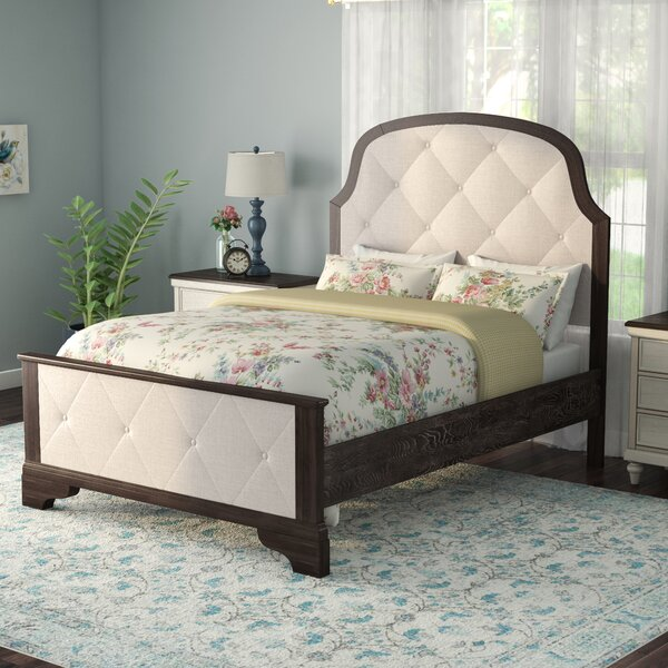Fortunat Upholstered Standard Panel Bed by Laurel Foundry Modern Farmhouse