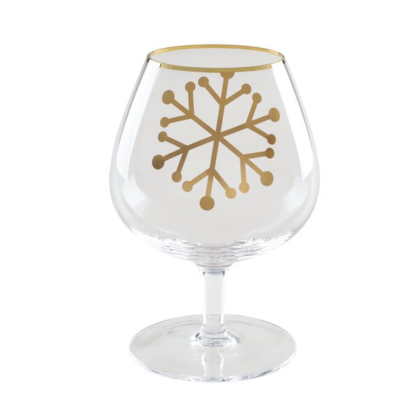 Holiday Snifters 14 Oz. glass Liqueur Glasse (Set of 2) (Set of 2) by Floor 9