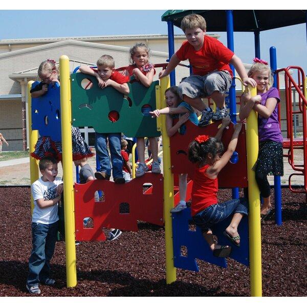 Zig Zag Climbing Wall by Kidstuff Playsystems, Inc.