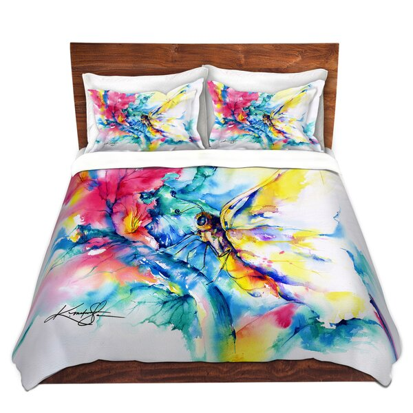 Milpitas Butterfly Microfiber Duvet Covers