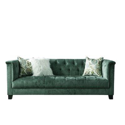 Novogratz Vintage Tufted Sofa Wayfair