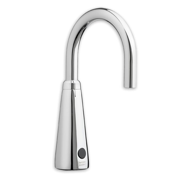 Selectronic Vessel Bathroom Sink Faucet With Drain Assembly By American Standard