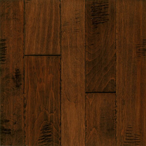 Artesian Random Width Engineered Birch Hardwood Flooring in Chutney Spice by Armstrong Flooring