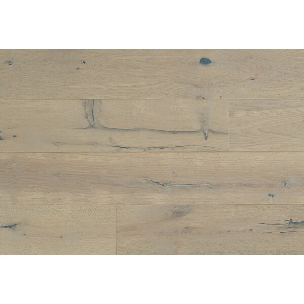 Celine 7-1/2 Engineered Oak Hardwood Flooring in Tan by Majesta