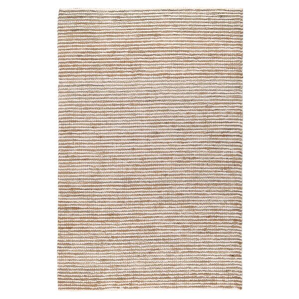 Kiti Hand-Woven Ivory/Natural Area Rug by Bay Isle Home