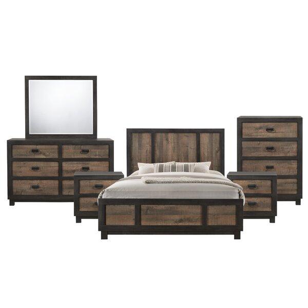 Llewellyn Panel 6 Piece Bedroom Set by Gracie Oaks