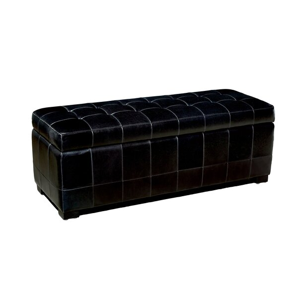 Andover Mills Leather Ottomans