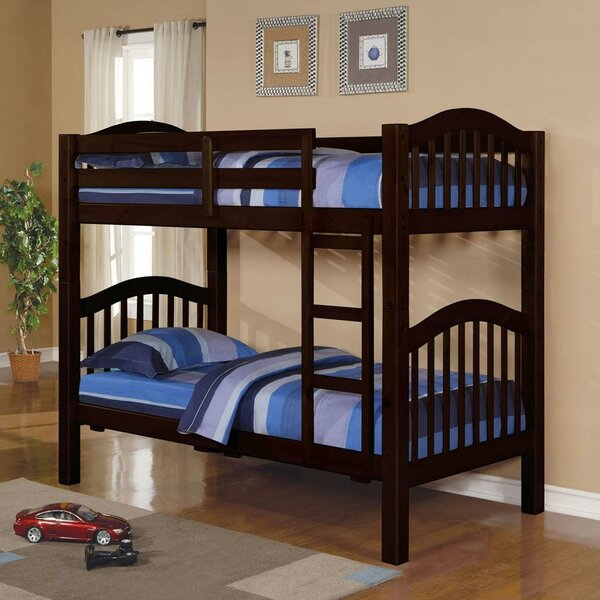 Englert Twin Over Twin Bunk Bed with Drawers by Harriet Bee