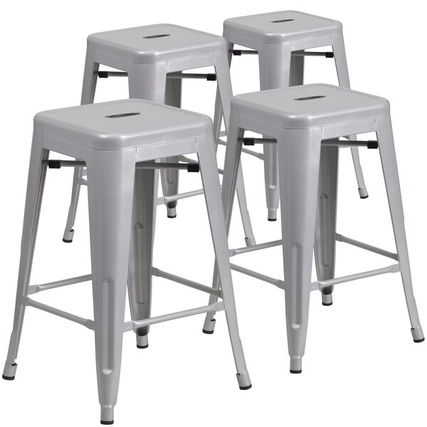 24'' Bar Stool (Set of 4) by Flash Furniture
