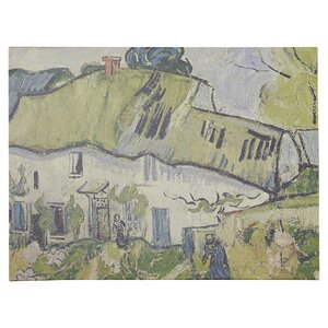 The Farm in Summer by Vincent Van Gogh Painting Print on Canvas by Charlton Home