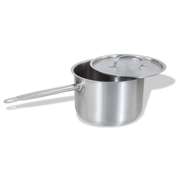 Stainless Steel Saute Pan with Lid by Crestware