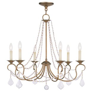 Savings Devana 6-Light Candle Style Chandelier By Willa Arlo Interiors