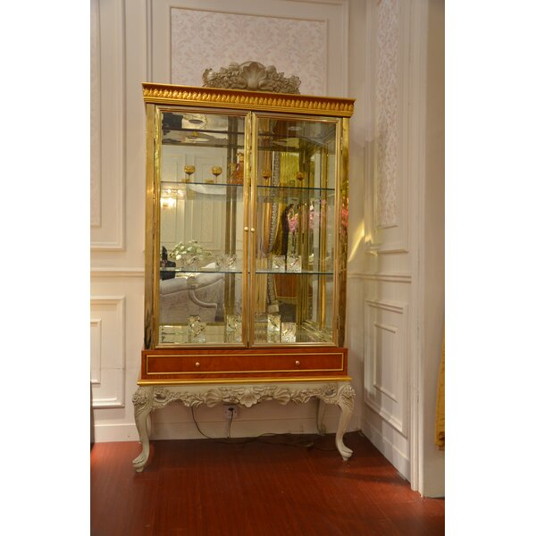 Perdita 2-Door Lighted China Cabinet by Astoria Grand
