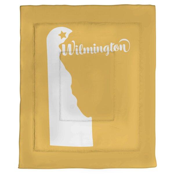 Wilmington Delaware Single Reversible Comforter