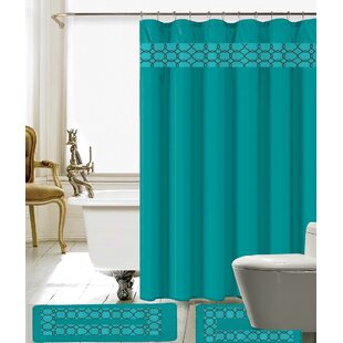 Navy Blue Shower Curtain Sets
