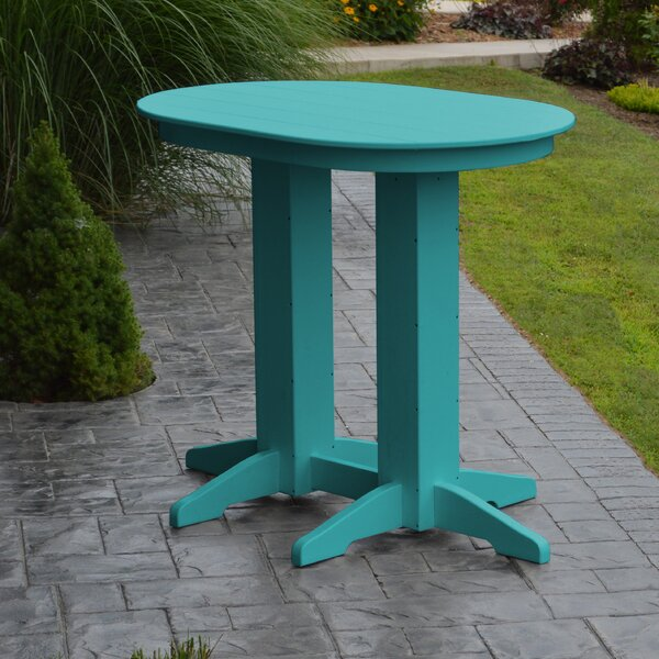 Nettie Plastic/Resin Bar Table by Red Barrel Studio Red Barrel Studio