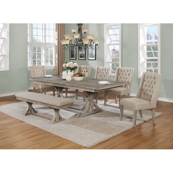 Minnie 7 Piece Dining Set by One Allium Way