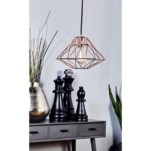 1-Light Geometric Pendant by Cole & Grey