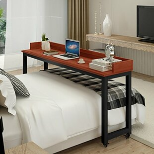 Yuriko Overbed Writing Desk With Wheels