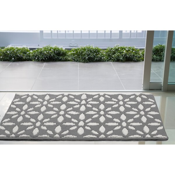 Gent Light Gray Area Rug by Wrought Studio