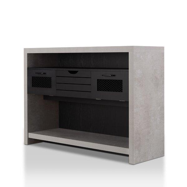 Read Reviews Cammi Industrial Console Table