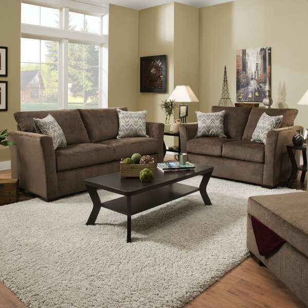 Chestnut Sleeper Configurable Living Room Set by Winston Porter
