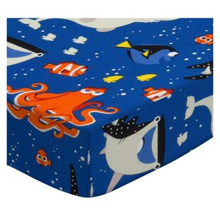 Best Finding Nemo and Dory Fitted Crib Sheet BySheetworld