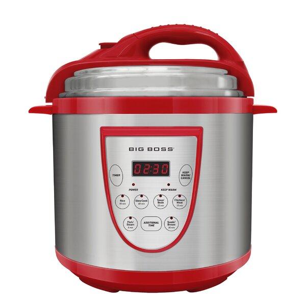 6 Qt.Pressure Cooker by Big Boss