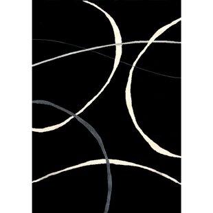 Ilwell Black Indoor/Outdoor Area Rug ByOrren Ellis