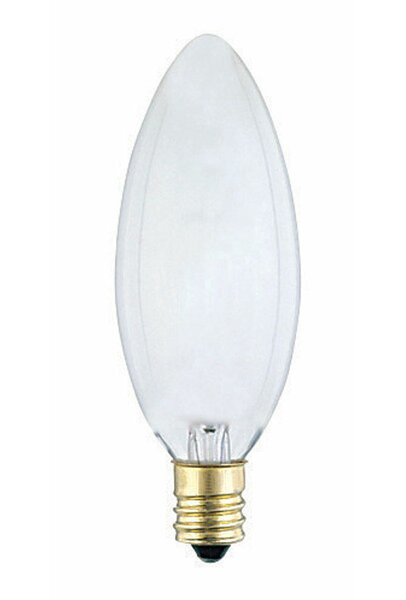 60W E12 Dimmable Incandescent Edison Candle Light Bulb by Westinghouse Lighting