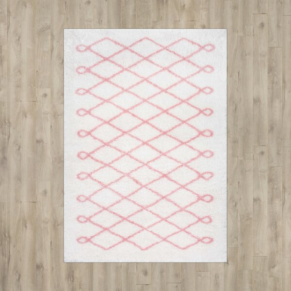 Lane Baby Pink Area Rug by Viv + Rae