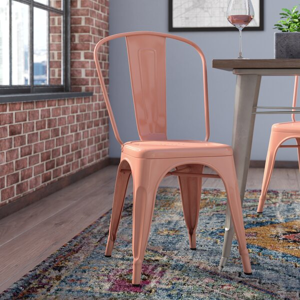 Halie Steel Side Chair (Set of 4) by Trent Austin Design