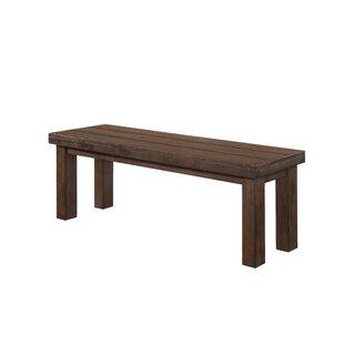 Attirant Morefield Wood Bench