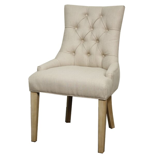 Chardae Side Chair by Gracie Oaks