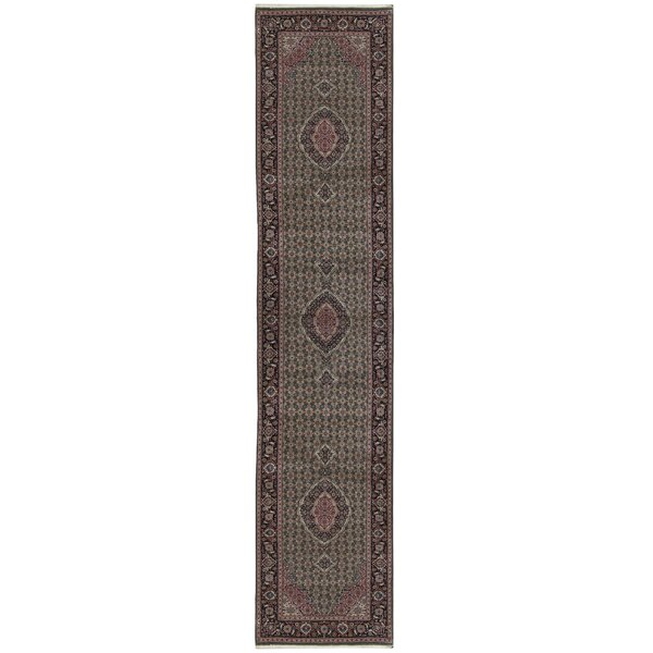 One-of-a-Kind Shah Hand-Knotted Runner 2'6